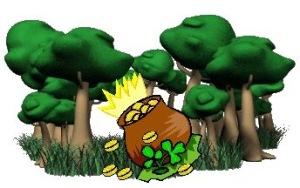 gröna skogar