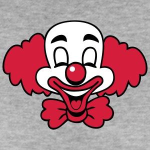 clown-skratt-funny-rolig-soet-t-shirts-premium-t-shirt-dam