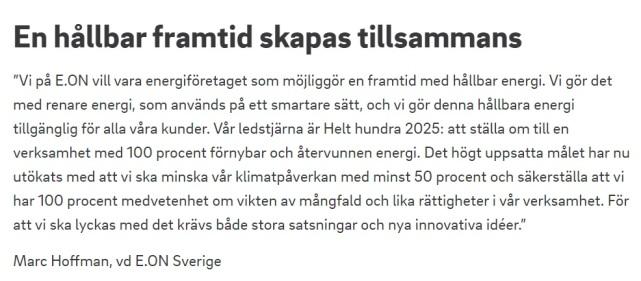 EON mål 2025