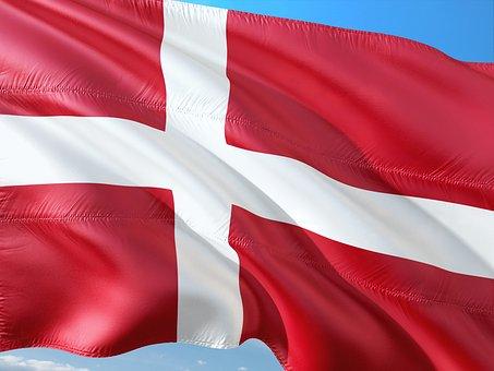 bild dansk flagga