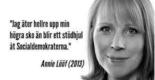 Sänd Annie Lööf din högra sko - Home | Facebook